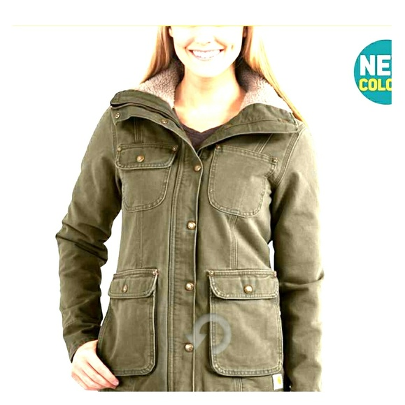 a54ecbfb2bbd7 Carhartt Jackets & Coats | Weathered Duck Wesley Coat | Poshmark